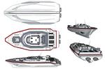 M-Tec Te iden Narda 80C Patrol Boat Technical