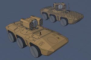 M-Tec Radpanzer Krattack Raketentraeger by NikitaTarsov