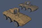 M-Tec Radpanzer Krattack Raketentraeger