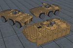 M-Tec Radpanzer Krattack Panzerjaeger