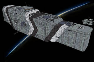 BK309-Class Heavy Battleship by NikitaTarsov