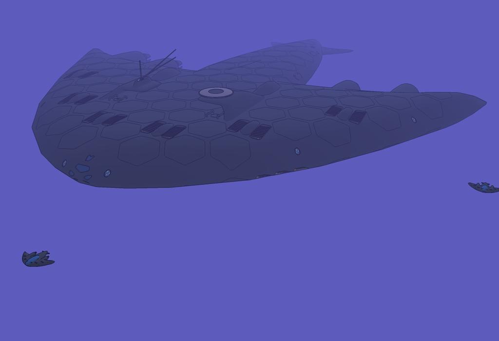 Stingray-class exploration boat Abyss by NikitaTarsov