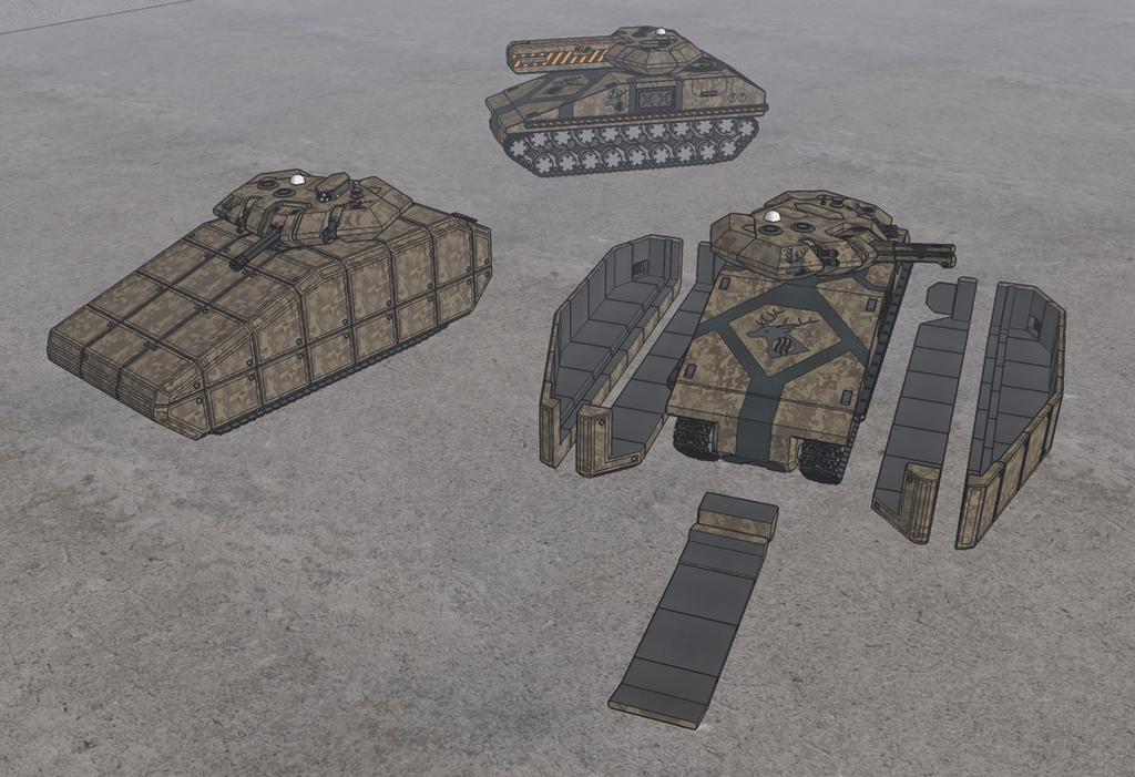 M-Tec Harmwald Leichter Panzer Hyaene by NikitaTarsov