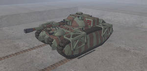 Kambahr Bedihn MBT SP-43 Eisenwolf by NikitaTarsov