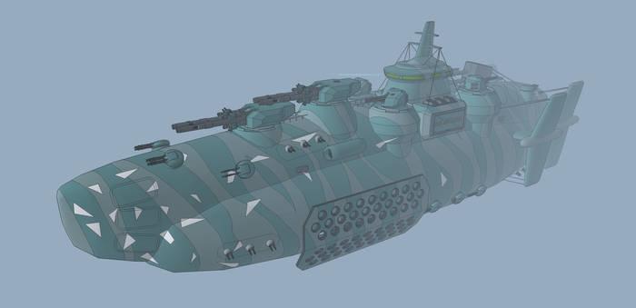 M-Tec Marodeur Luftschiff Sturmmaehre