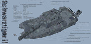 M-Tec Noehs Schwarztiger II MBT Tech II by NikitaTarsov