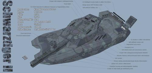 M-Tec Noehs Schwarztiger II MBT Technical English by NikitaTarsov