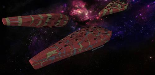 Alon-Konglomerat KimoRire-Klasse Schlachtschiff