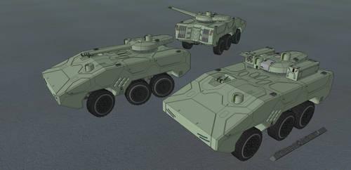 M-Tec Schakal MRP Schuetzenpanzer