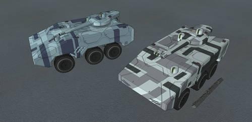 M-Te Schakal MRP Schuetzenpanzer Urban by NikitaTarsov