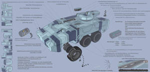 M-Tec Schakal MRP Schuetzenpanzer Tech-Sheet GER