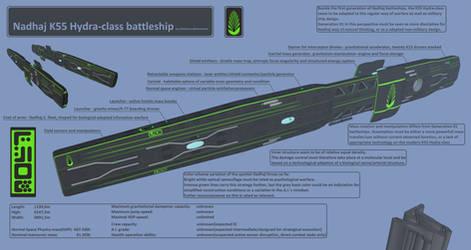 DFDBS - Nadhaj - K55 Hydra-class battleship Tech