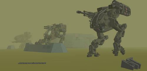 M-Tec Kambahr Debhin Jaeger assault walker