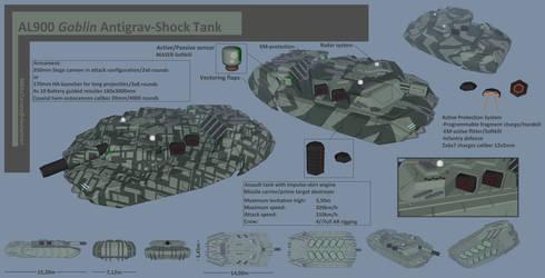 AL900 Goblin Antigrav-Shock Tank ENG