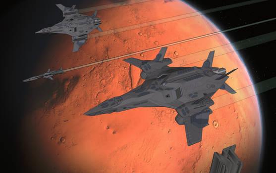 DFDBS - Ra'an - Feuervogel-Class Stealthbomber