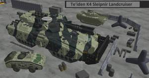 M-Tec - Te'iden - K4 Sleipnir Landcruiser