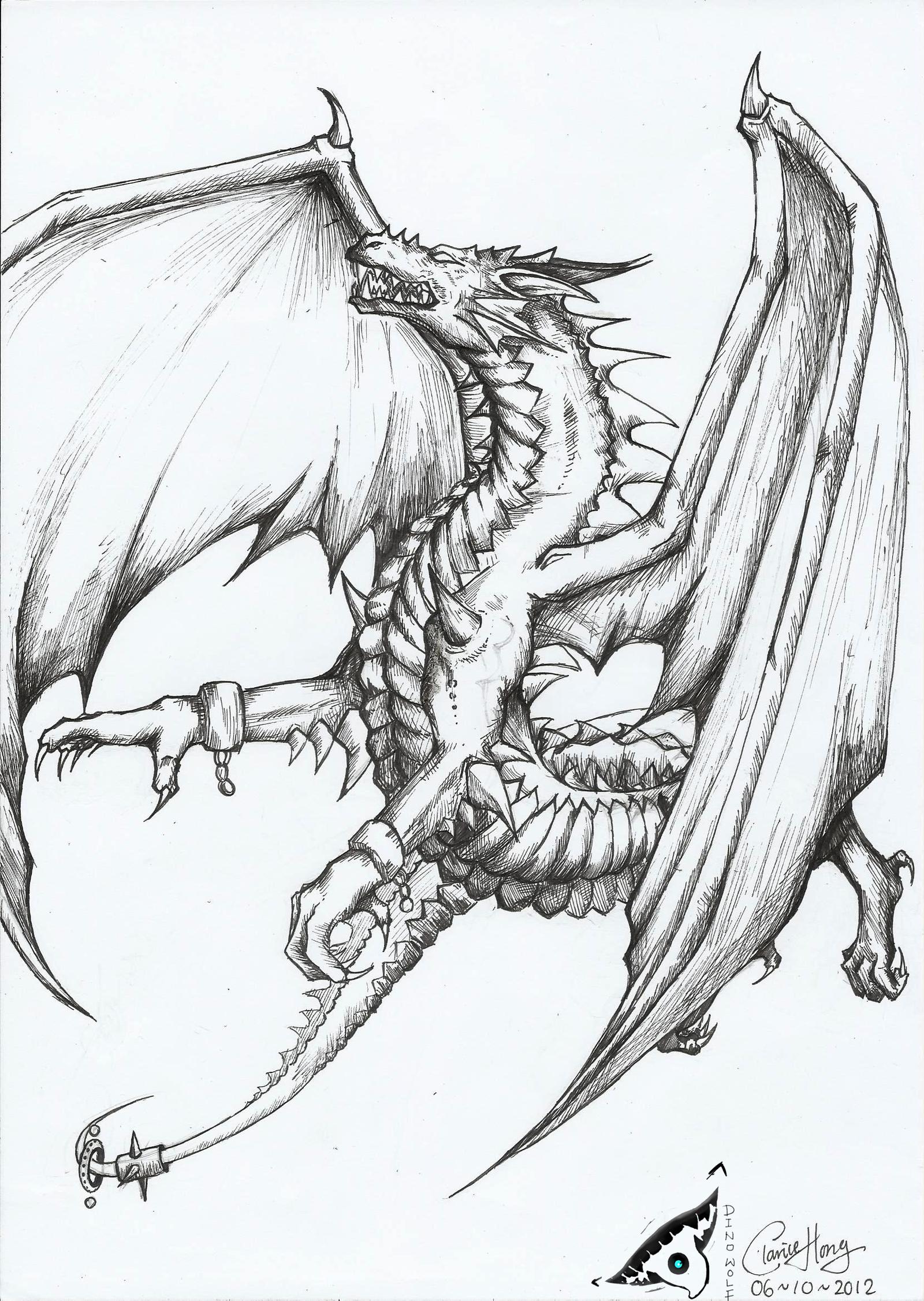 The Dragon - Caligo by dino-wolf on DeviantArt