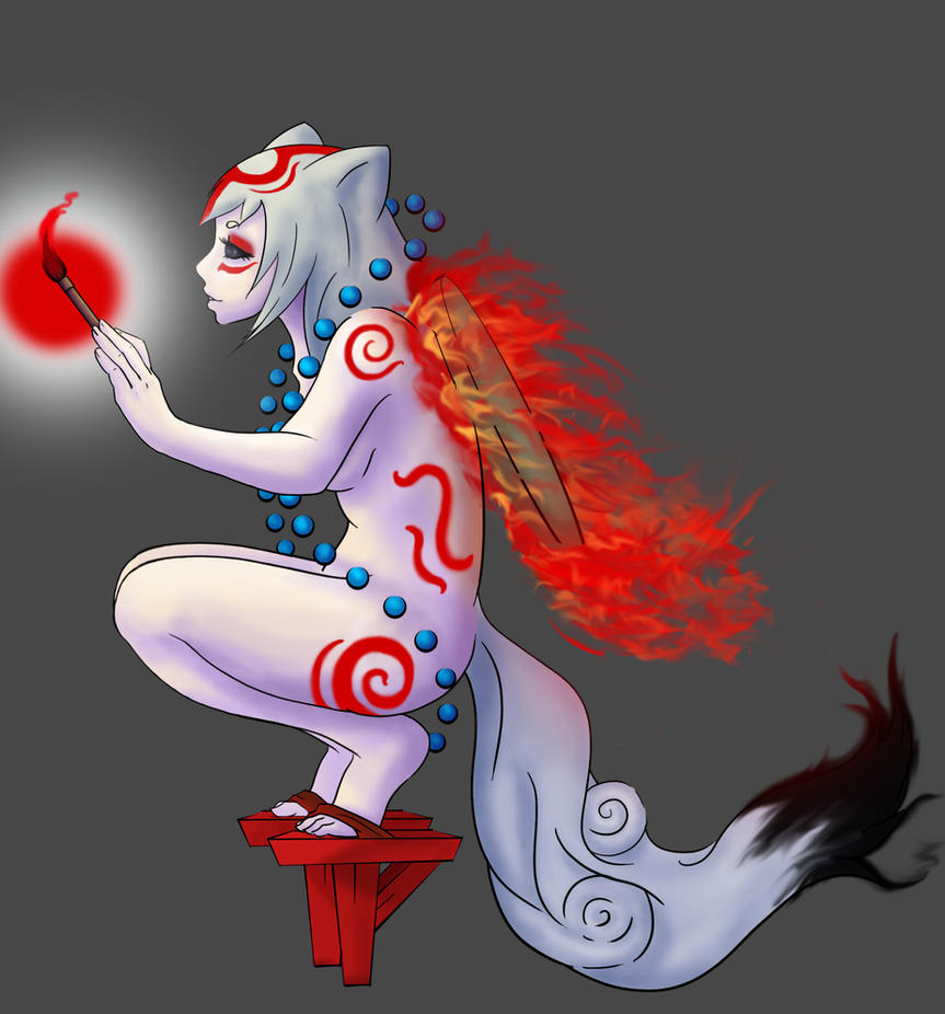 Amaterasu, Mother of Us All by Mirumitsu