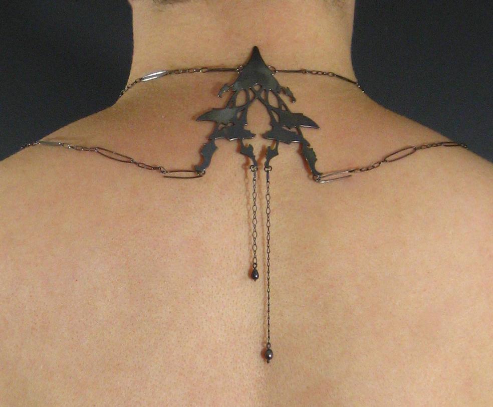 Rusalka Necklace - Back by ilkela