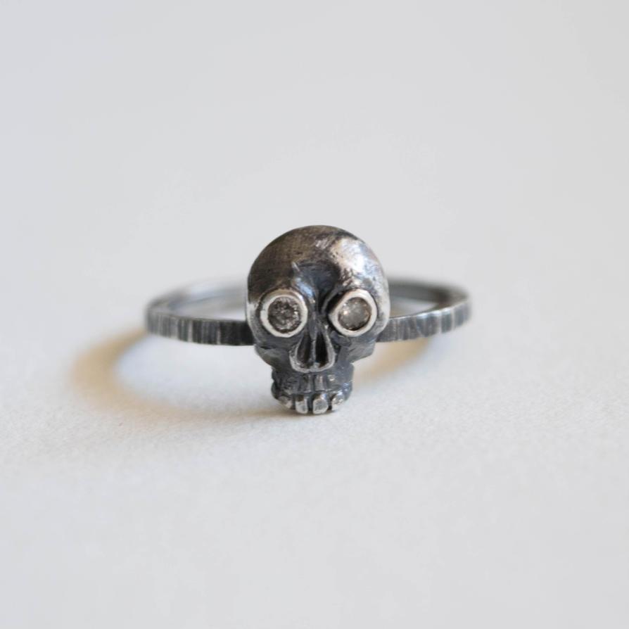 Simple Skull Ring by ilkela