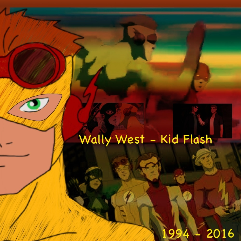 Wally West Last Day As Kid Flash