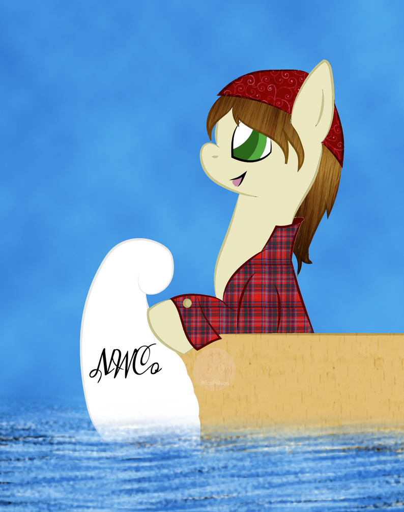 [Gift] Voyageur NWC Pony by RicePoison