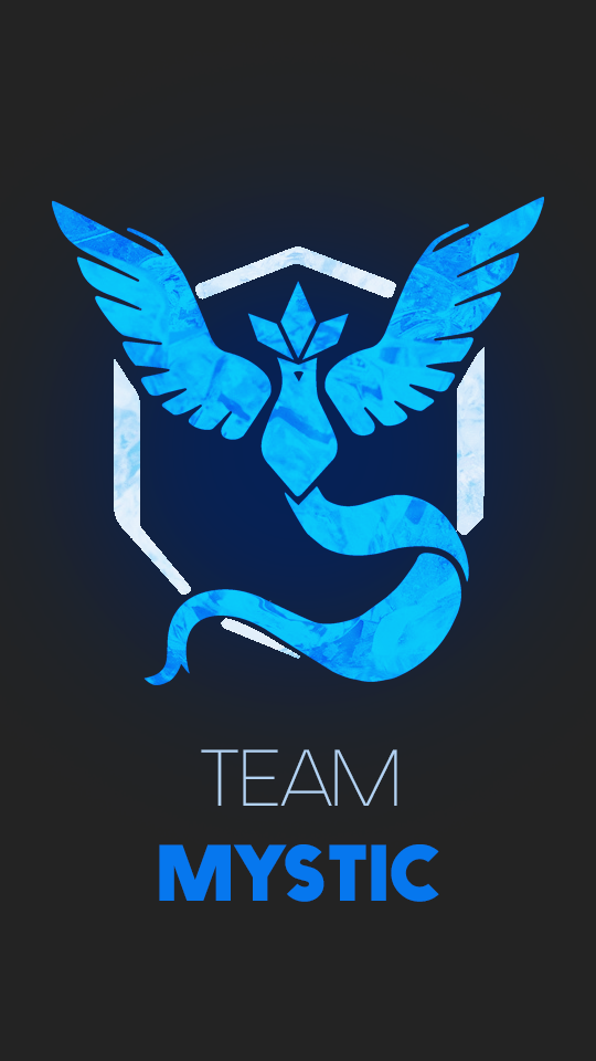 [Device Wallpaper] Team Mystic by RicePoison on DeviantArt