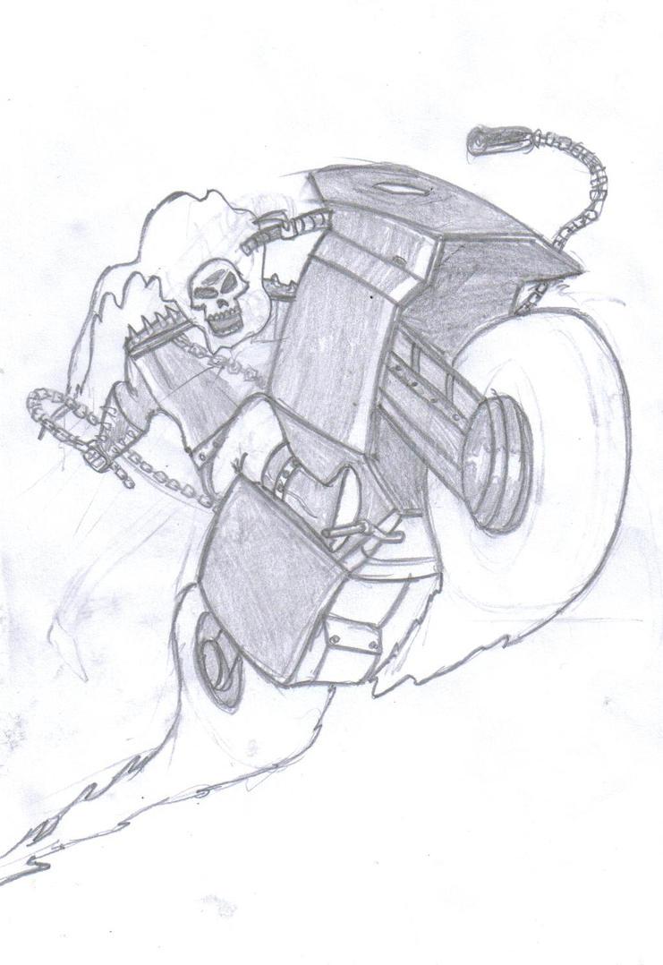 Ghost Rider by Silnev