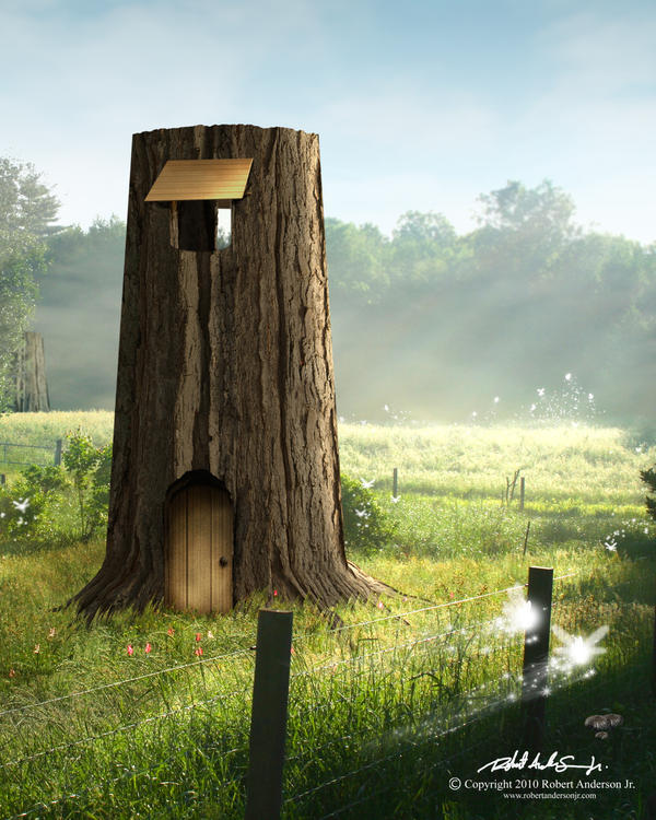 Kokiri Forest by RobAndersonJr