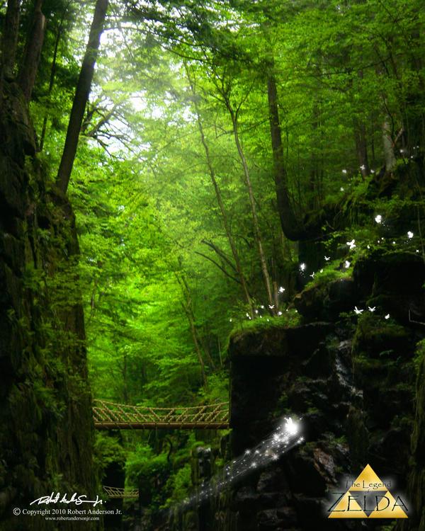 Kokiri Gorge by RobAndersonJr