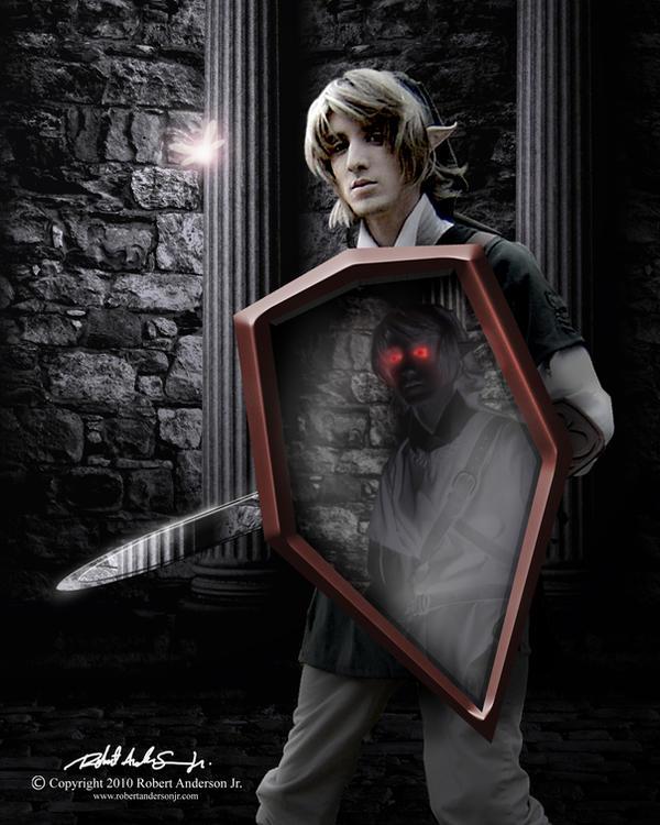 Link vs. Dark Link by RobAndersonJr