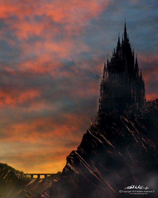 Draculas Castle By RobAndersonJr