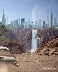 Desert City by RobAndersonJr