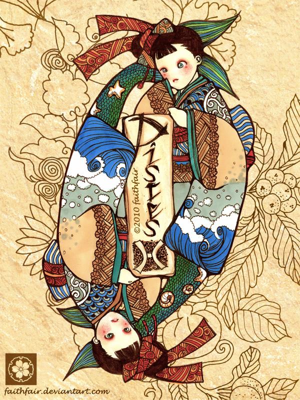 Japanese Pisces by faithfair