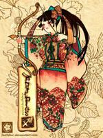 Japanese Sagitarius by faithfair