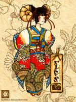 Japanese Aries by faithfair