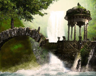 The Elven Ruins by Cheburaskah