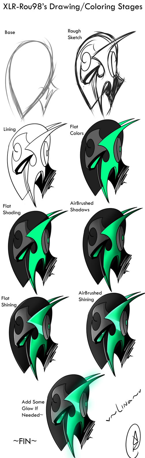 XLR-Rou98's Drawing/Coloring Tutorial by Neutral-Rou