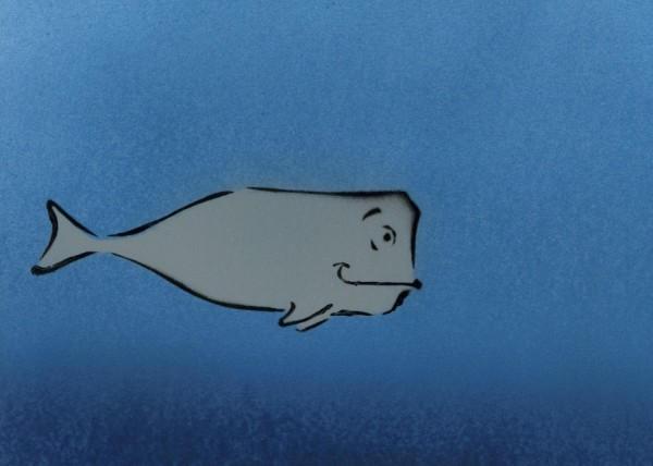 Wendle Whale - STENCIL by j0llyr0ger
