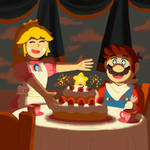 Mario 35th - Delicious Cake