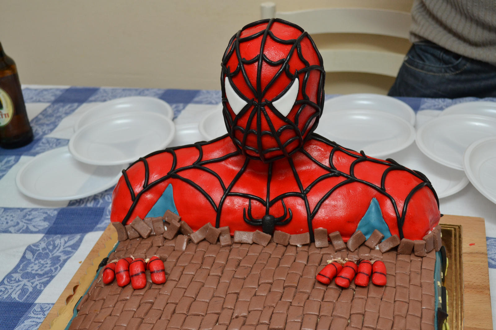Birthday Cake Designs Spiderman : Spiderman cake on Pinterest Spider Man Cakes, Spiderman ...