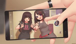 Emi and Chizuru