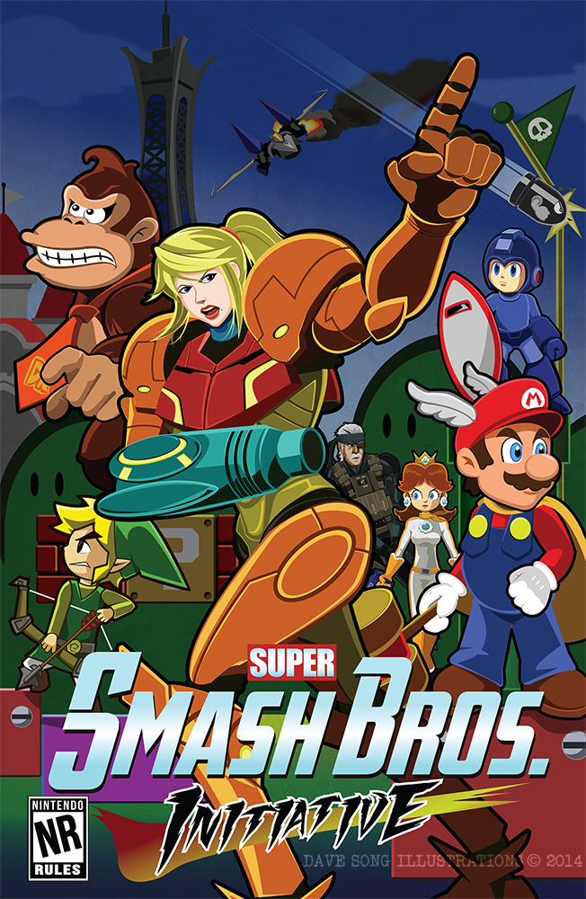 Avenging Smash Bros. by DaveSong