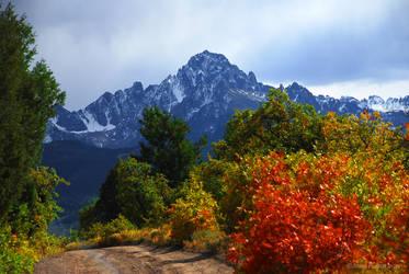 Mt. Sneffels in Color by afugatt