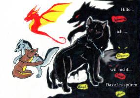 Waechter in der Dunkelheit by xXBlackwolfangelXx
