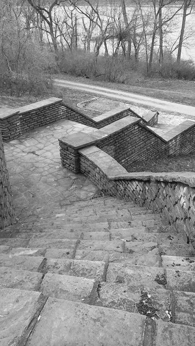 Stone Stairway by IamEternity