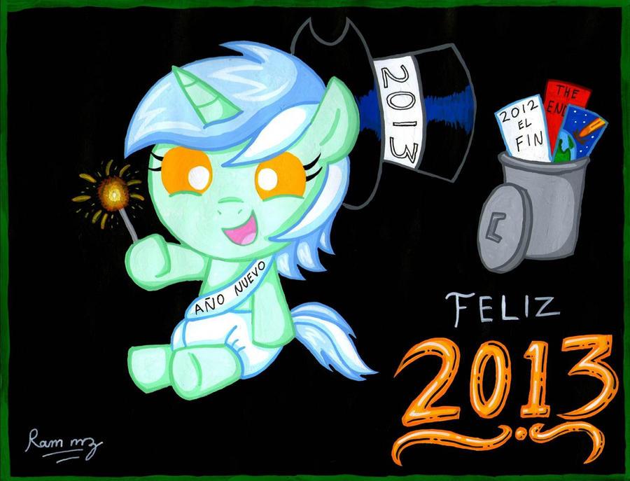 Feliz 2013 by Rammzblood