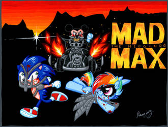Mad Max The Hedgehog by Rammzblood