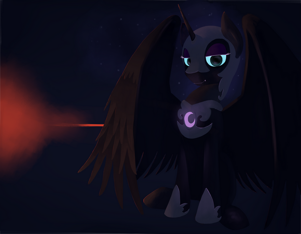 Nightmare moon by Hiponov