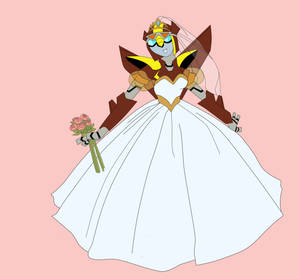 Animated Charcoal Bride